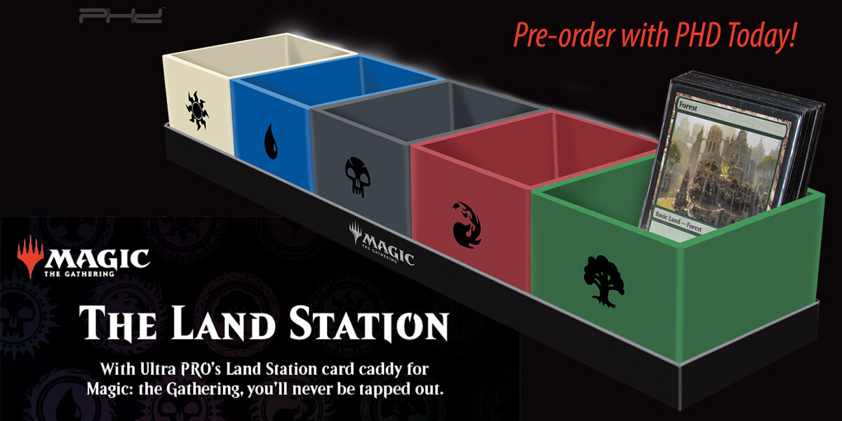 The Land Station for Magic: The Gathering — Ultra•PRO