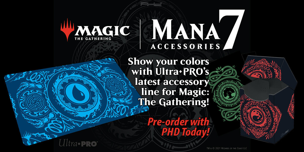 Mana 7 Accessories Line for Magic: The Gathering — Ultra•PRO