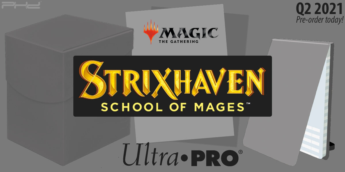 MTG Strixhaven Accessories — Ultra•PRO