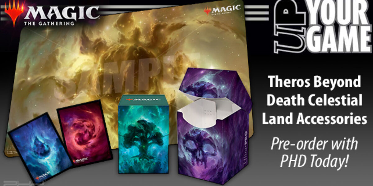 Magic: The Gathering Celestial Land Accessories — Ultra•PRO