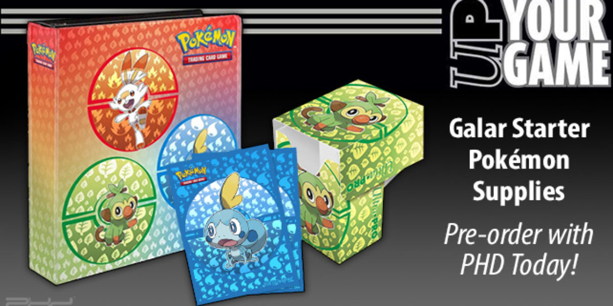 Pokémon Sword & Shield: Starters Accessories — Ultra•PRO