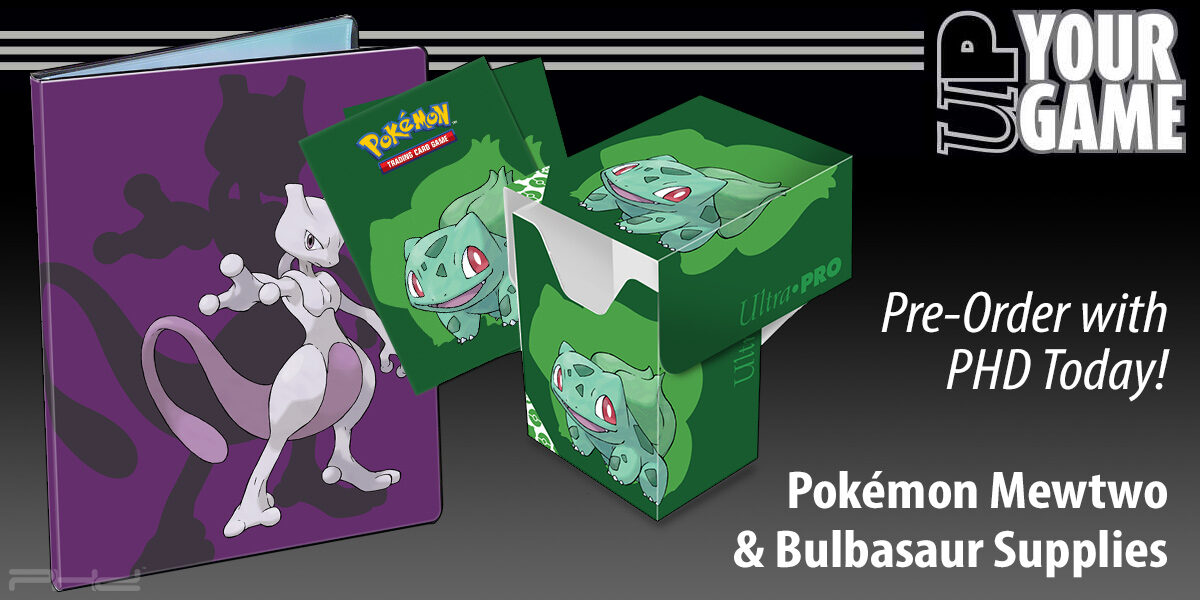 Pokémon Mewtwo and Bulbasaur Supplies — Ultra•PRO