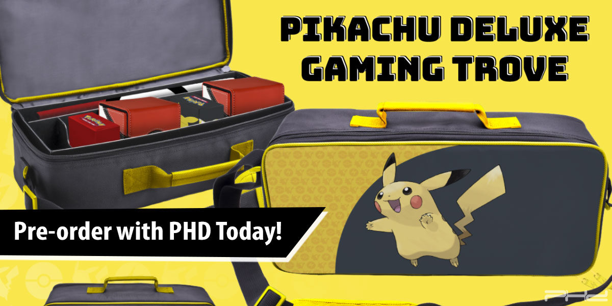 Pokémon: Pikachu Deluxe Gaming Trove — Ultra•PRO