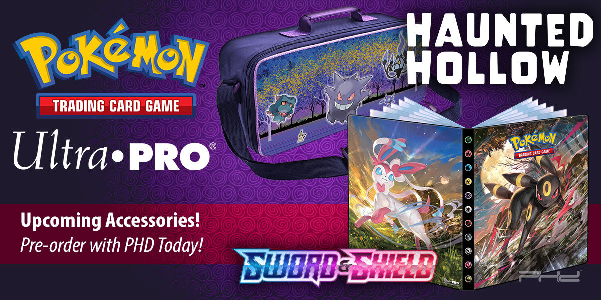 Sword & Shield 7 and Haunted Hollow Pokémon Accessories — Ultra•PRO
