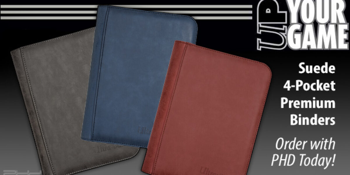 New Suede Collection PRO Binders — Ultra•PRO