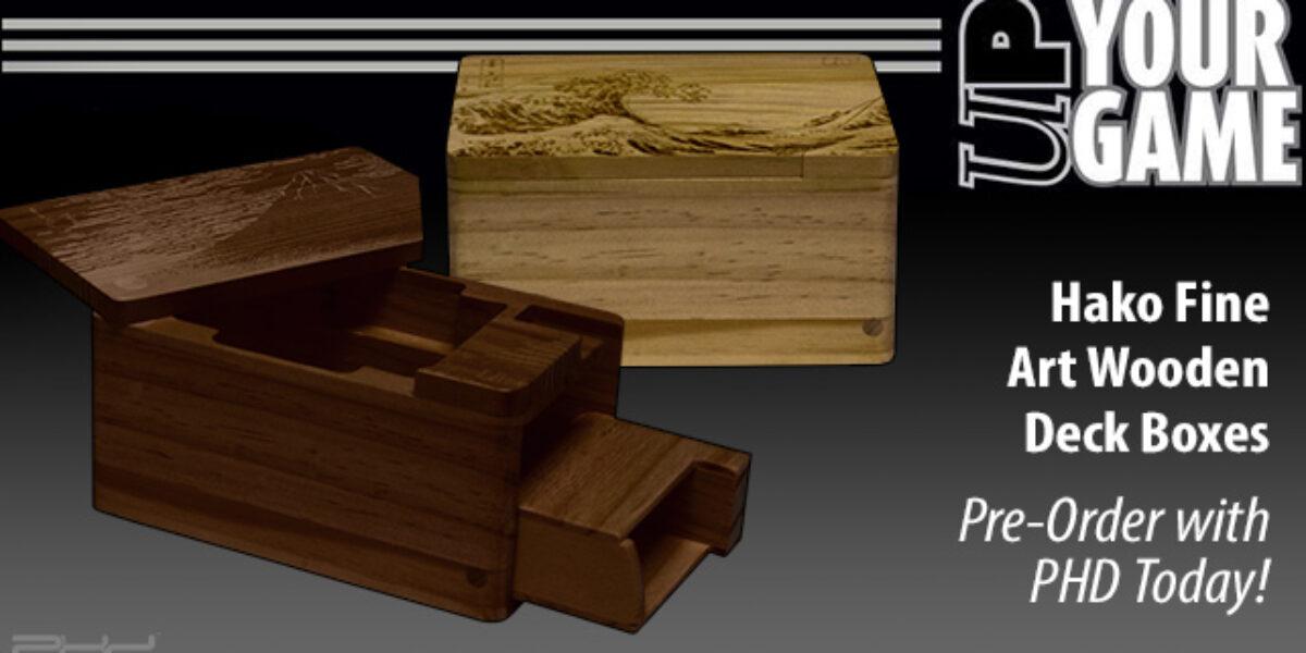 Hako Fine Art Wooden Deck Boxes — Ultra•PRO