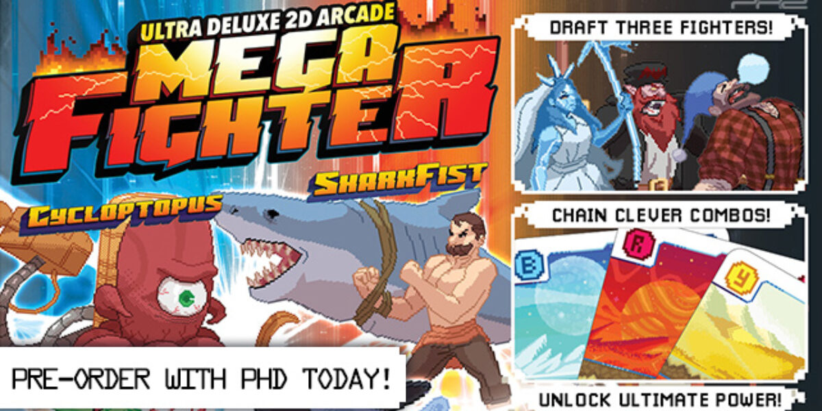 Ultra Deluxe 2D Arcade Mega Fighter — WizKids