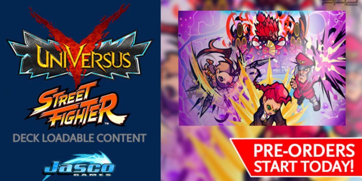 UniVersus CCG: Street Fighter Deck Loadable Content — Jasco Games