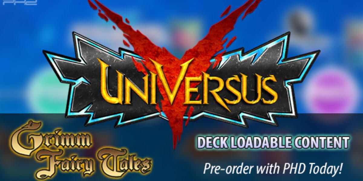 UniVersus CCG: Grimm Fairy Tales Deck Loadable Content — Jasco Games