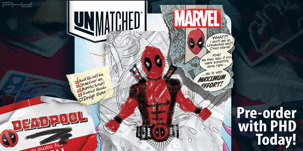 Unmatched: Deadpool — Mondo Games