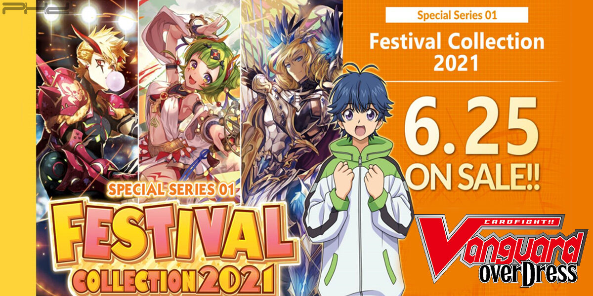 Cardfight!! Vanguard OverDress: Festival Collection 2021 — Bushiroad