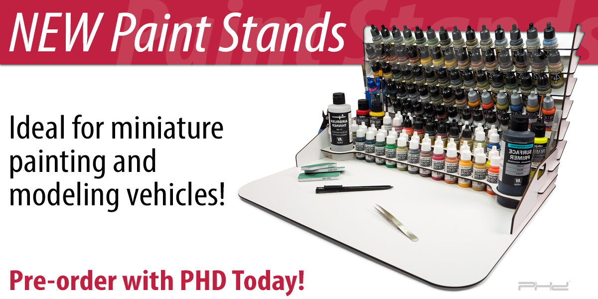 Four New Paint Stands — Vallejo