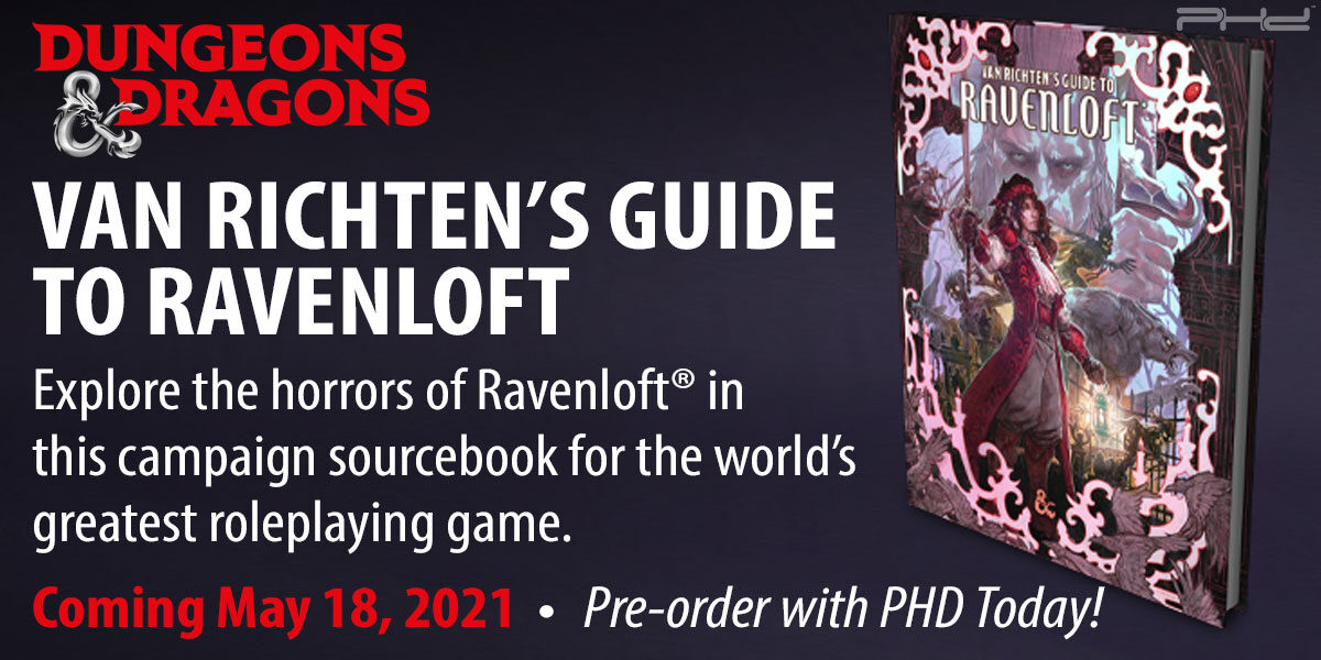 Dungeons & Dragons: Van Richten's Guide to Ravenloft — Wizards of the Coast