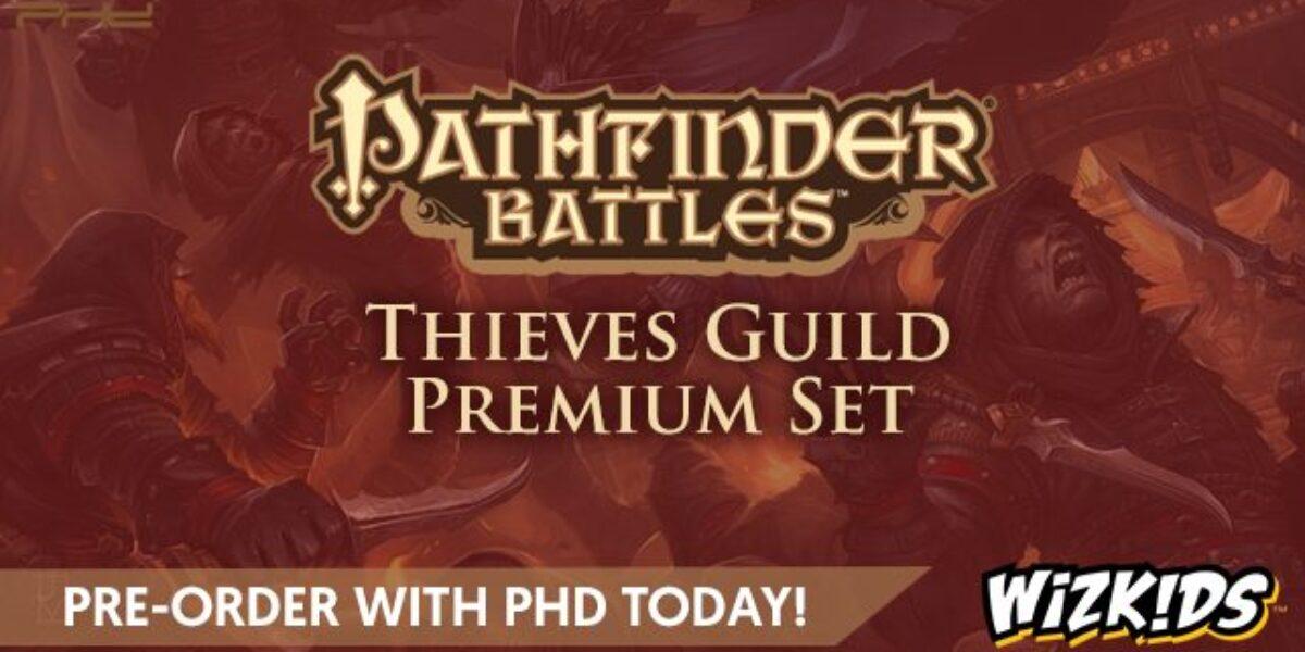 Pathfinder Battles: Thieves Guild Premium Set – WizKids