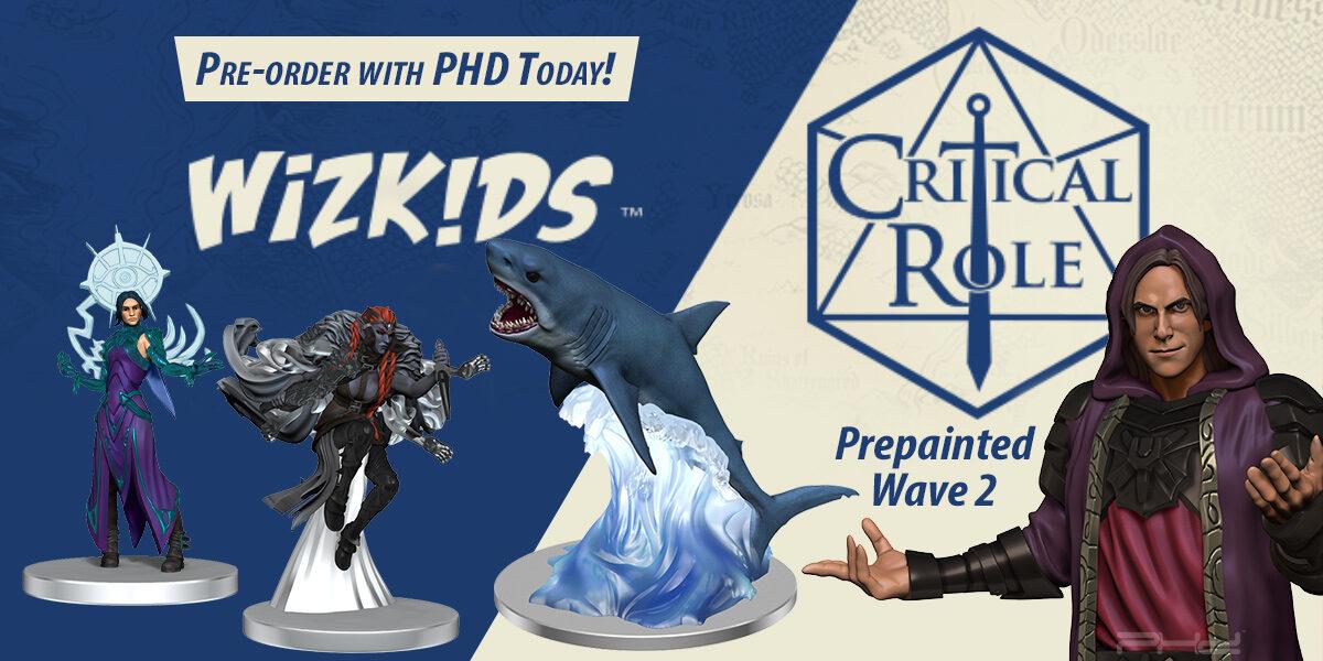 Critical Role Unpainted Minis, Wave 2 — WizKids
