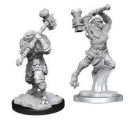 WZK90384 • Ravenite Half-Dragon Barbarian Female • $4.99
