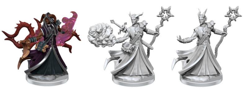 WZK75034 Tiefling Warlock Male