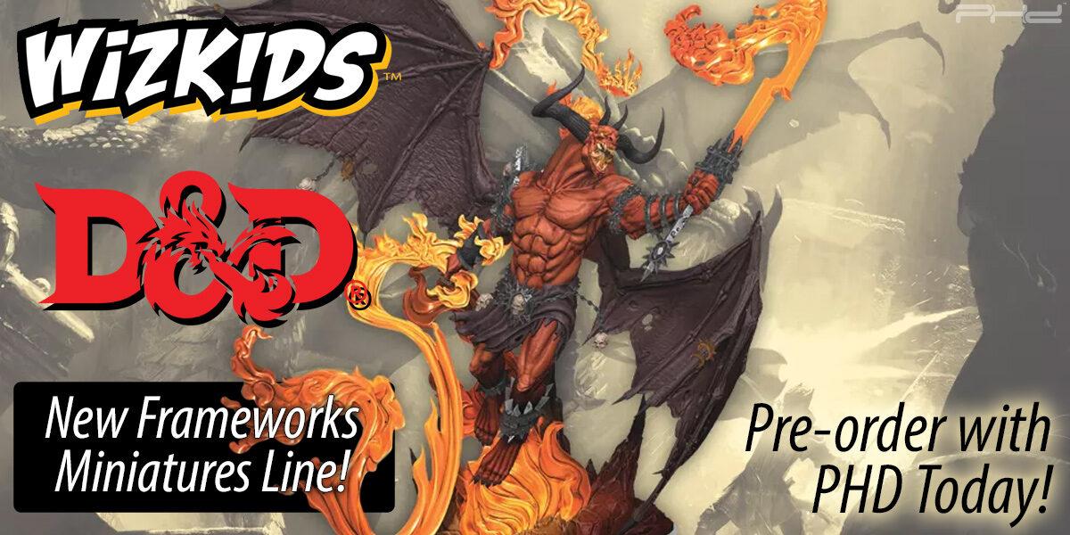 Dungeons & Dragons Frameworks Miniatures — WizKids