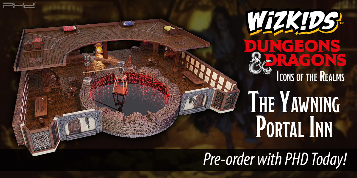 D&D Icons of the Realms: The Yawning Portal Inn — WizKids
