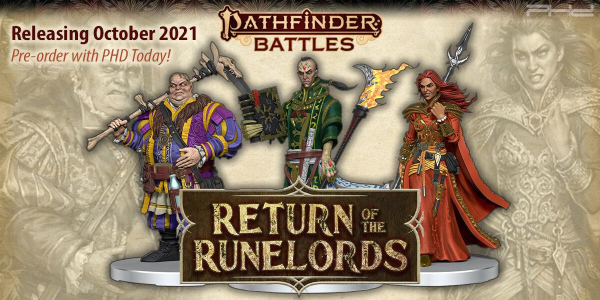 Pathfinder Battles: Return of the Runelords — WizKids