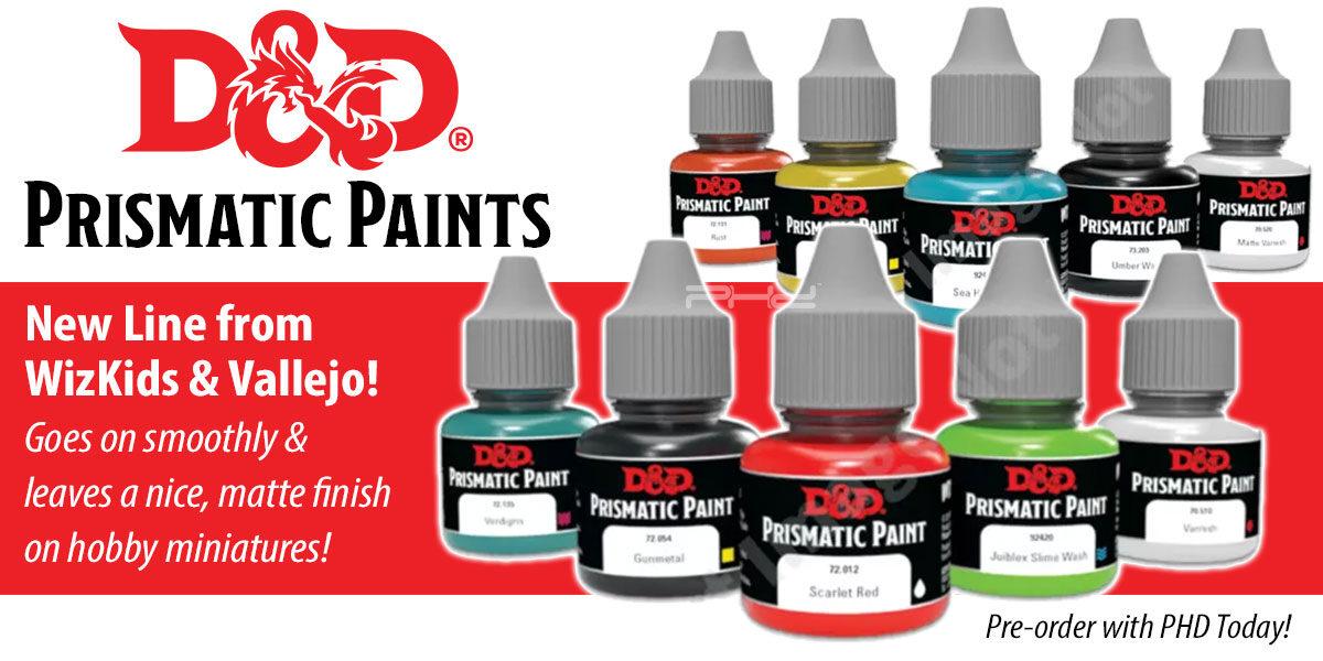 D&D Prismatic Paints — WizKids