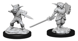 Male Goblin Rogue & Female Goblin Bard (WZK90309)