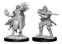 Hobgoblin Fighter Male & Hobgoblin Wizard Female (WZK90310)