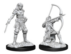 Pathfinder Deep Cuts: Human Fighter Female (WZK90326)