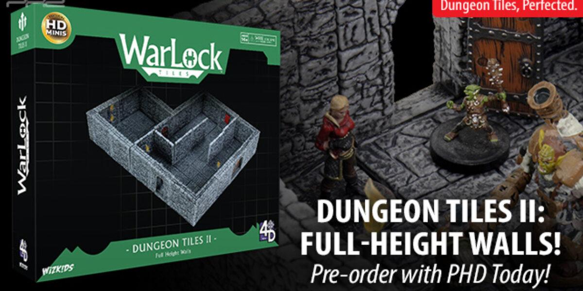 WarLock: Dungeon Tiles II — WizKids