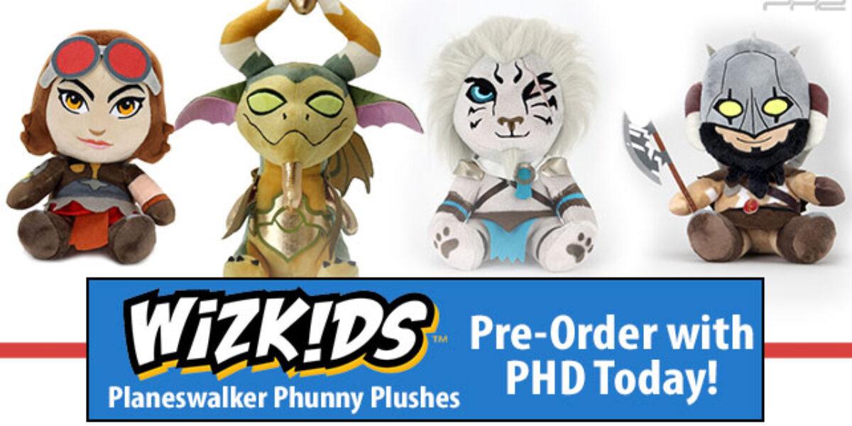 Magic: The Gathering Phunny Plushes — WizKids