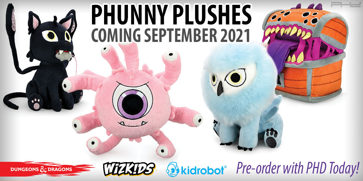 Dungeons & Dragons Phunny Plushes by Kidrobot — WizKids