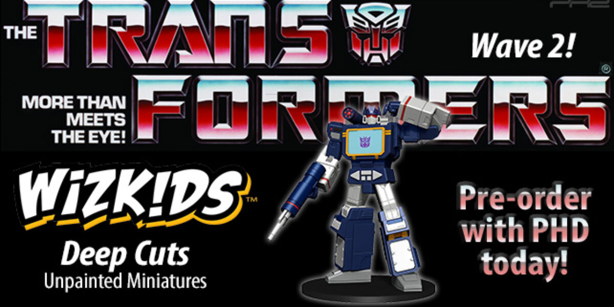 Transformers Deep Cuts Unpainted Miniatures — WizKids