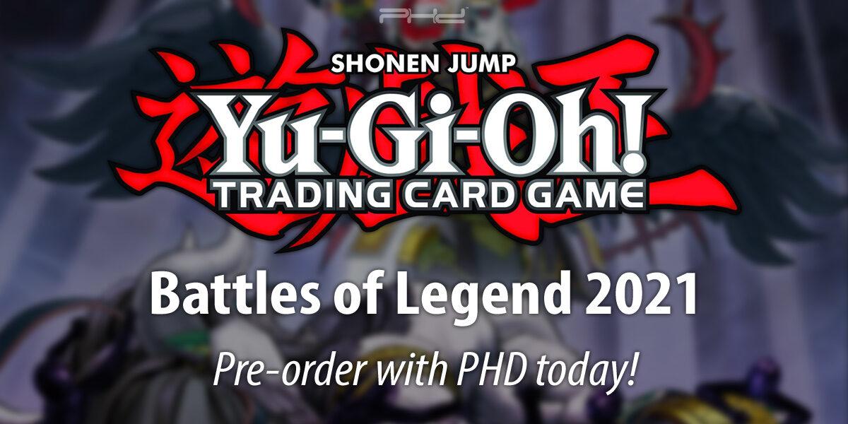 Yu-Gi-Oh! Battles of Legend 2021 — Konami
