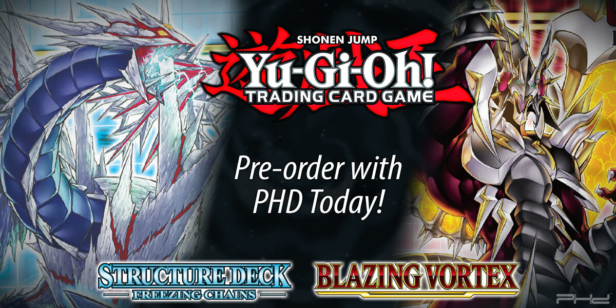 Yu-Gi-Oh! Blazing Vortex & Freezing Chains — Konami