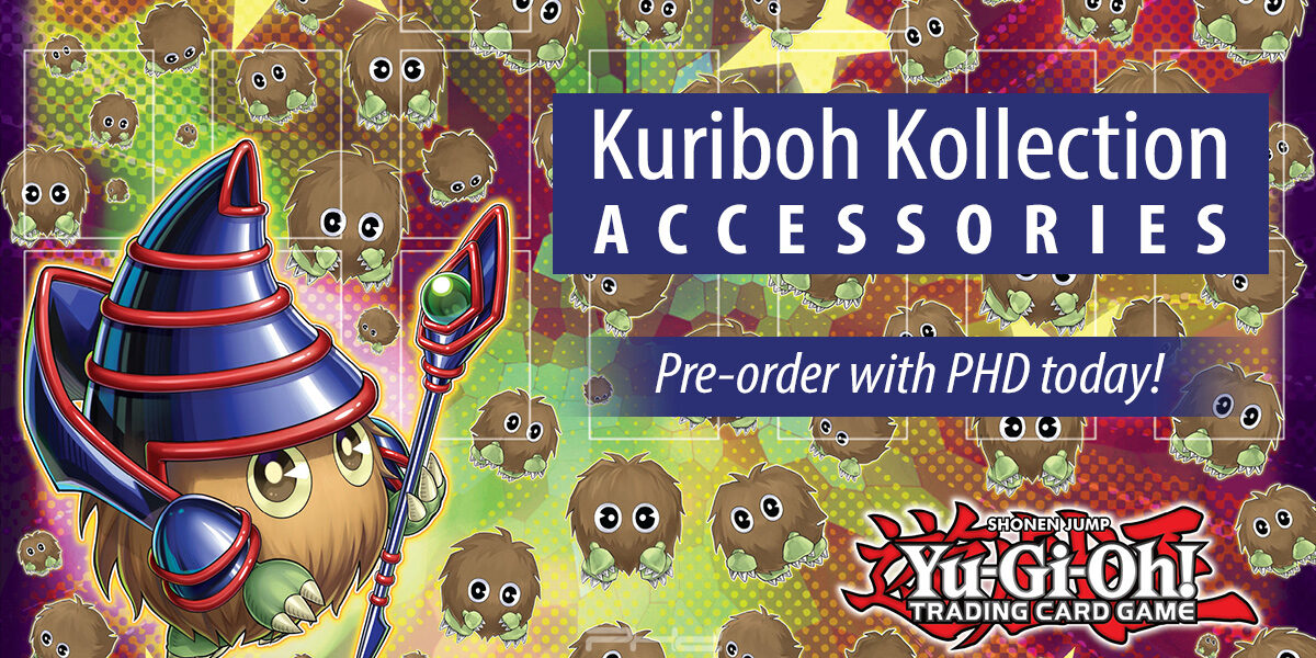 Yu-Gi-Oh! Kuriboh Kollection Accessories — Konami