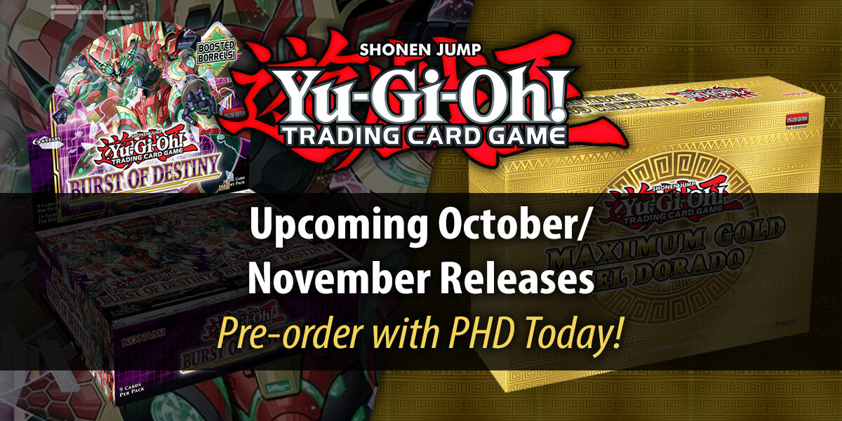 Yu-Gi-Oh!: Burst of Destiny & Maximum Gold El Dorado — Konami