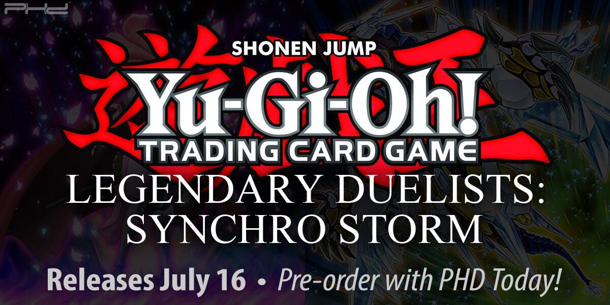 Yu-Gi-Oh! Legendary Duelists: Synchro Storm — Konami
