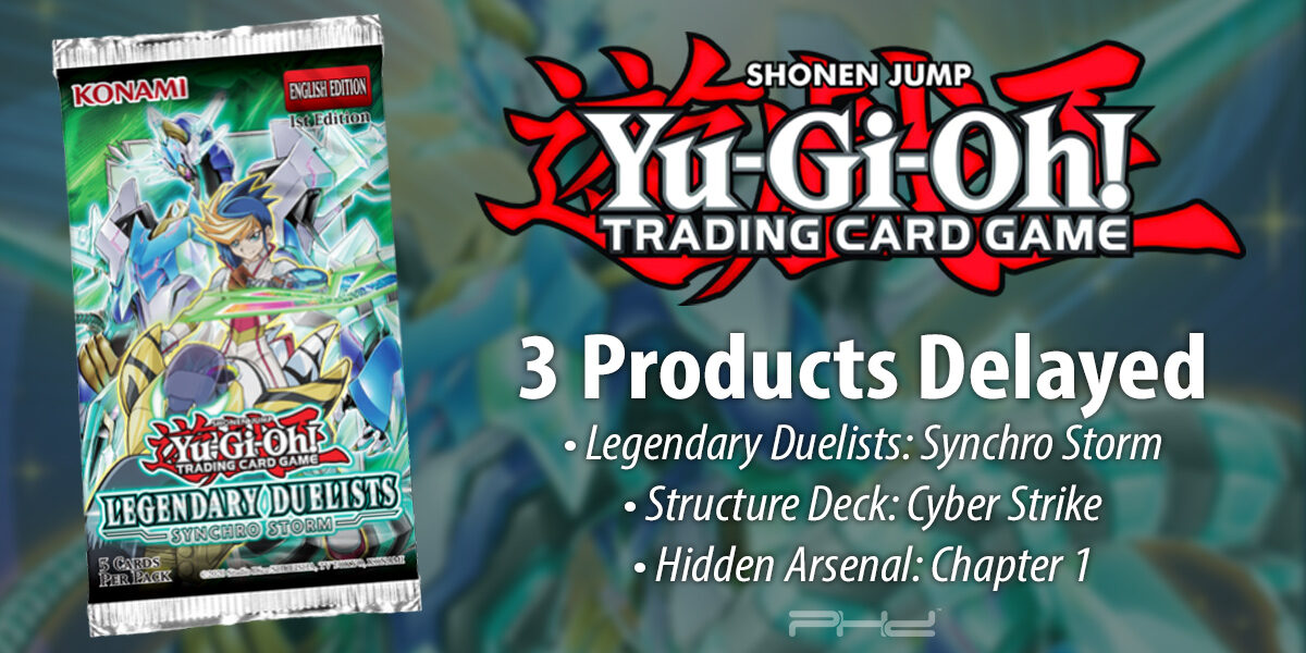 Yu-Gi-Oh! Product Release Date Changes