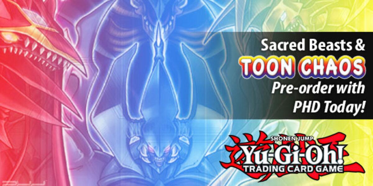 Yu-Gi-Oh!: Toon Chaos & Sacred Beasts — Konami