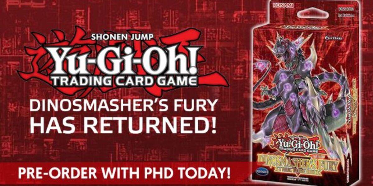 Yu-Gi-Oh! Dinosmasher's Fury Structure Deck – Konami