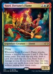 Modern Horizons 2 Bundle promo: Yusri, Fortune's Flame