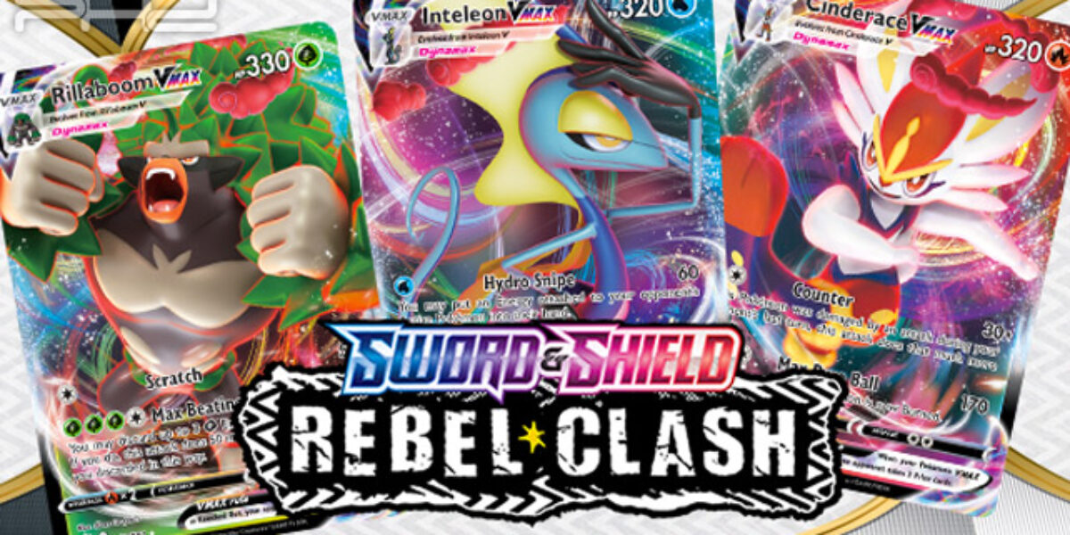Pokémon Sword & Shield Rebel Clash