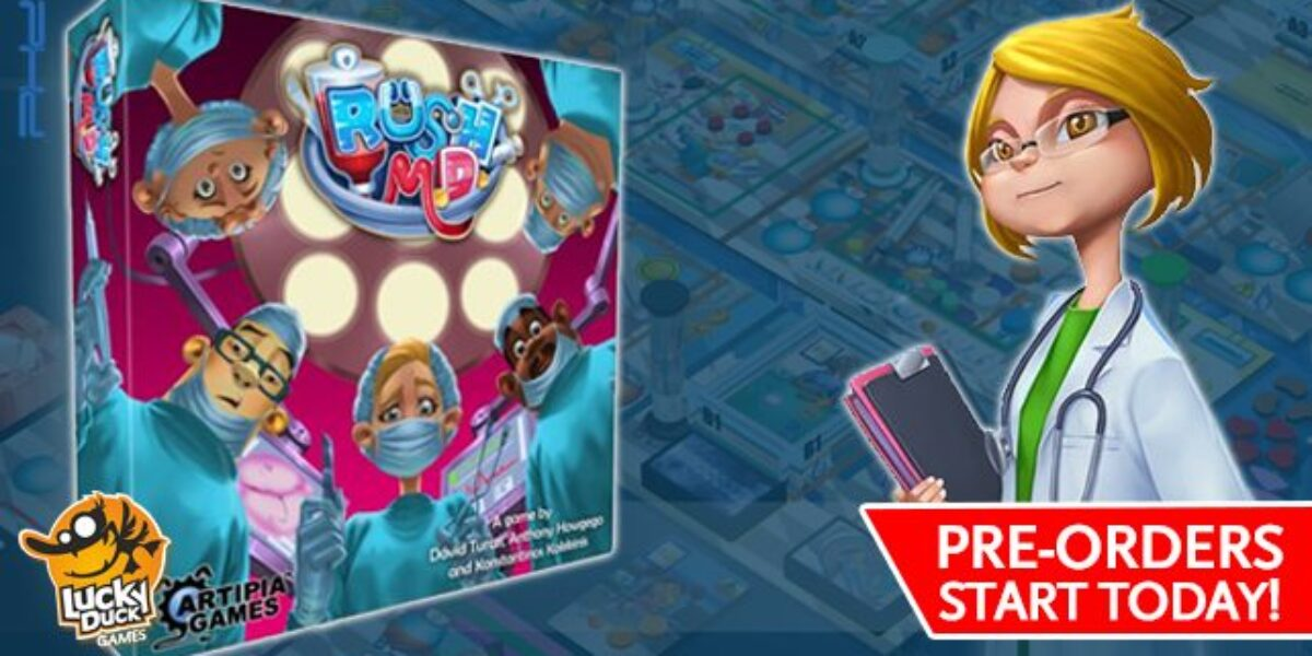 Rush M.D. – Lucky Duck Games